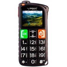 Мобильный телефон Sigma Comfort 50 Light Dual sim Black